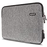 Inateck Filz-Sleeve für 13 Laptops (13,3 Zoll, MacBook Air, MacBook Pro Retina Chromebook Dell XPS 13 Lenovo Yoga) Laptop-Schutzhülle, Notebookhülle Laptop-Tasche, Laptop Case, Designer-Hülle