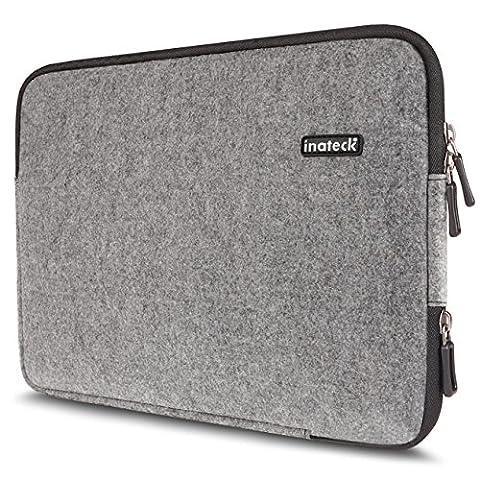 Inateck 14 Zoll Filz-Sleeve für 14'' Laptops HP Pavilion Lenovo ThinkPad Yoga14 Acer Aspire ES1, Notebook Tasche, Notebookhülle Laptop-Tasche, Laptop Case,