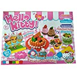 IndusBay Do it Yourself Cake, Desserts and Swirl Ice Cream DIY Clay Dough Play Set with Clay tub Non Toxic for Kids