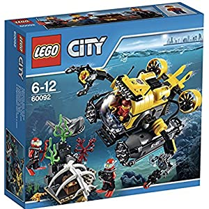 LEGO City 60092 - Sottomarino, 3 Minifigure 5702015350631 LEGO