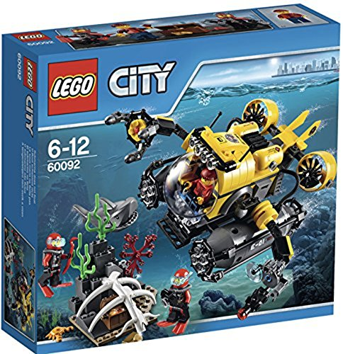 Wal-mart-pool (LEGO City 60092 - Tiefsee-U-Boot)