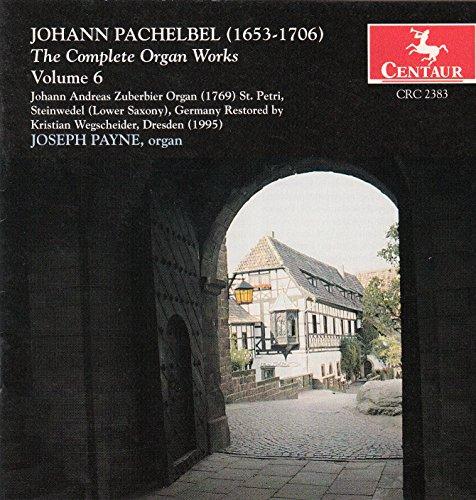 Pachelbel - Complete Organ Works Vol. 6 [Import allemand]