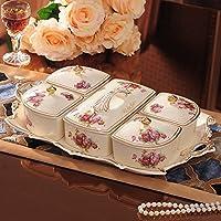 Europea - Stile di frutta piatto di ceramica sub -