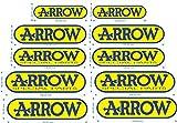 Aufkleber wählbar Adhesivo Sticker 2Sticker Arrow Special Parts Auspuff Moto Sticker Aufkleber Autocollant