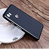 Google Pixel 2 XL, Back Cover, Premium Real Perfect Fit (PUDDING) Matte Finish Soft Silicon (BLACK) Back Case Cover For Google Pixel 2 XL