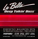 La Bella Corde de basse flatwound B2 en acier inoxydable pour Hofner style Beatles