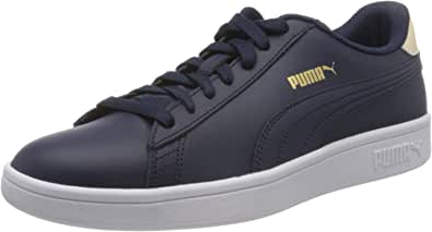 PUMA Unisex's Smash V2 L Jr Low-Top Sneakers