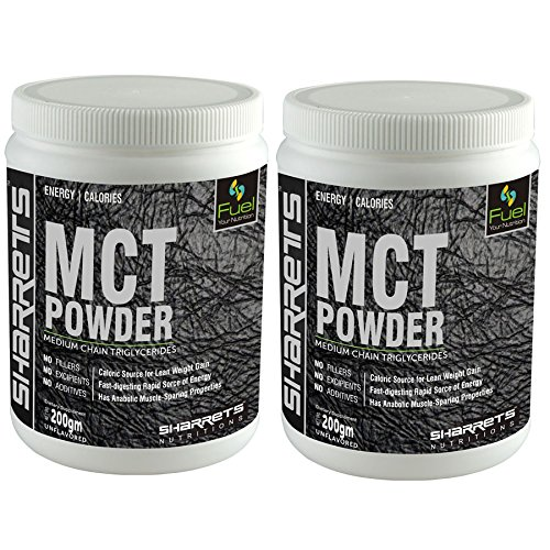 Sharrets Nutritions - Mct Powder ( Medium Chain Triglycerides) 2 X 200G