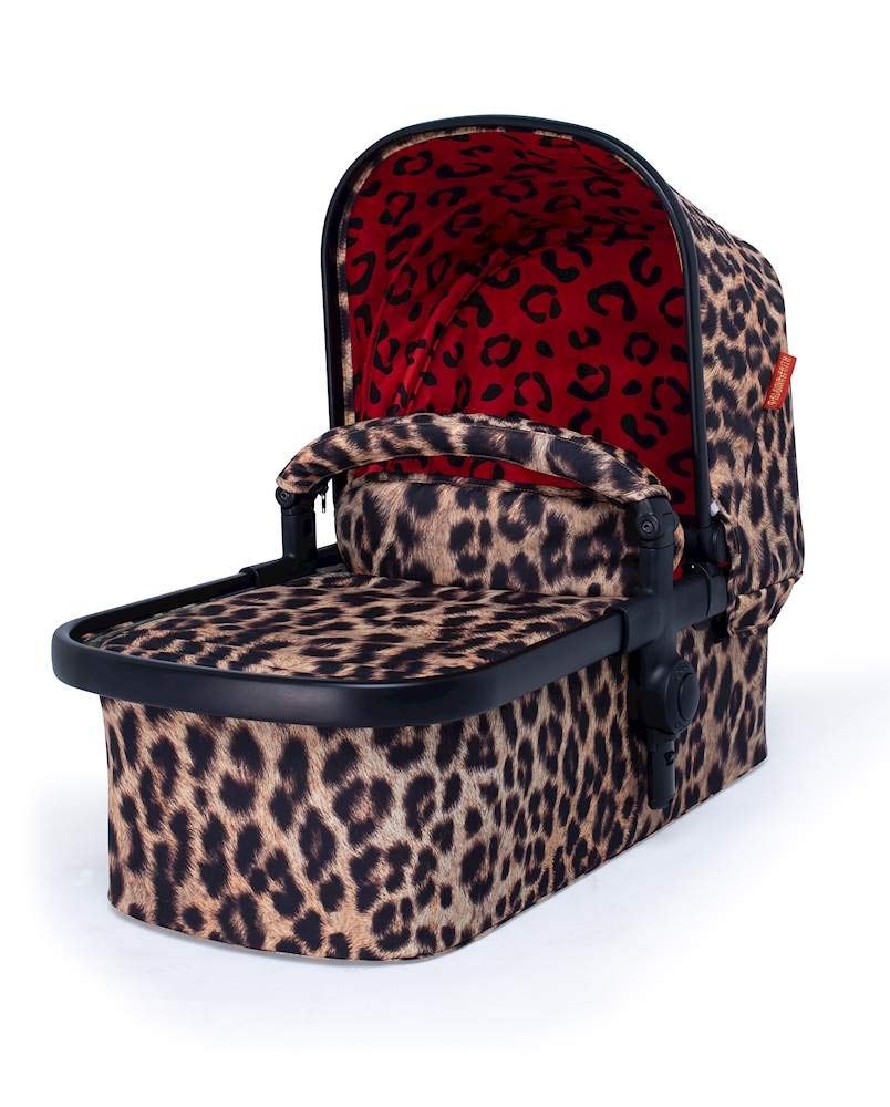 Cosatto Paloma Faith Giggle Pram and Pushchair Hear Us Roar - Leopard Print Cosatto Giggle 3 is your classic nippy 3-wheeler, lightweight but sturdy and super easy to use The from-birth carrycot, (suitable for occasional overnight sleeping), converts to pram mode Reversible pushchair unit when they're ready to sit up 2