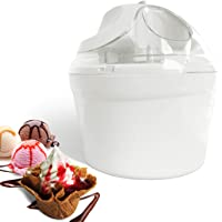 Leogreen - Sorbetière électrique 1.4 L Machine à Glace Sorbetière pour Crème Glacée, Sorbet et Yaourt Glacé, Machine à…