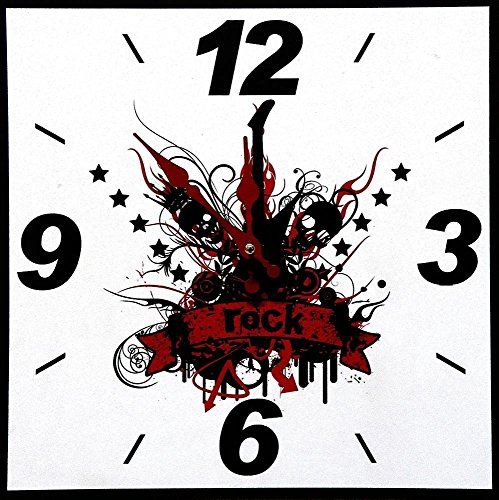 horloge-murale-design-guitare-de-rock-angulaire-moderne-neuf-tinas-collection