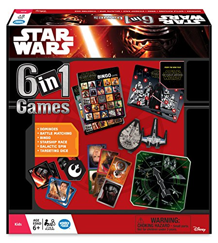 Ravensburger 22482 Star Wars 6-in-1 Game