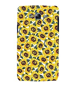 Fuson Premium Back Case Cover Sunflower With yellow Background Degined For Samsung Galaxy Grand Neo::Samsung Galaxy Grand Neo i9060