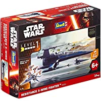 Revell-Modellbausatz-Star-Wars-Resistance-X-wing-Fighter-im-Mastab-178-Level-1-originalgetreue-Nachbildung-mit-vielen-Details-Build-Play-mit-LightSound-zum-Bauen-Spielen-06753