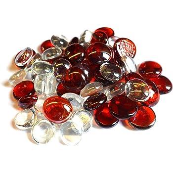 2 Kilo Mirror Glass Chippings Pebbles Stones Wedding Vase Fish Garden Craft