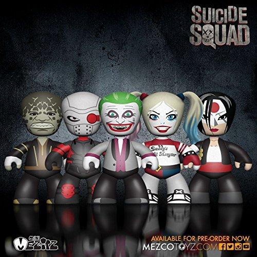 DC Universe Mez-Itz Action Figure Set Suicide Squad 5 cm Mezco Toys Comics Mini figures