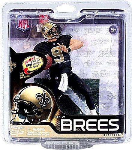 Mcfarlane NFL Series 31 Figure Drew Brees Saints Variant Black Jersey