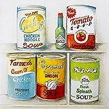 20 Servietten Kitchen Cabinet - Küchendosen / Küche / Marken / Essen 33x33cm