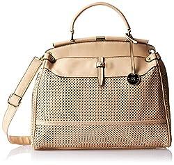 Diana Korr Womens Handbag (Beige) (DK34HAPR)