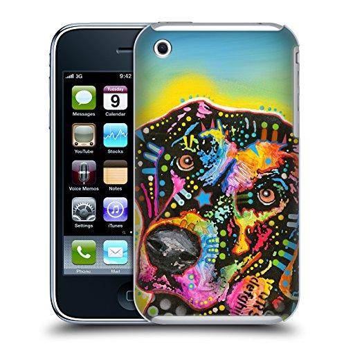 Ufficiale Dean Russo French Bulldog Cani Cover Retro Rigida per Apple iPhone 6 Plus / 6s Plus Labrador