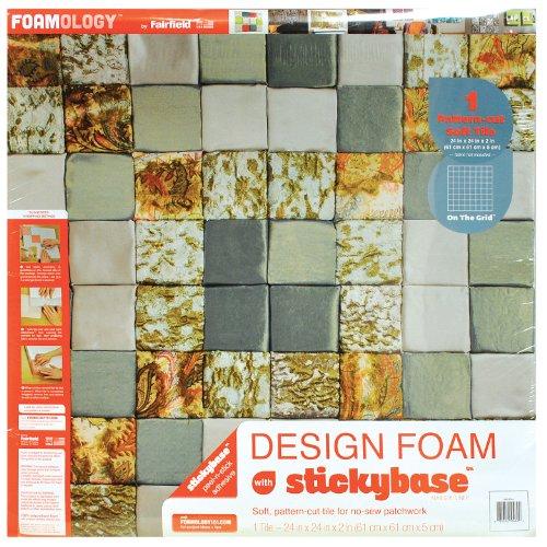 fairfield 61x 61x 5,1cm Papier Design Schaum auf das Gitter 1Pro Paket 61x 61x 5,1cm -