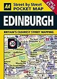 AA Pocket Map Edinburgh