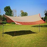 WolfWise Toldo Carpa Sombrilla Para Camping,Al aire libre,Patio,Para ir de excursión Pesca Picnic,Tienda de Campaña