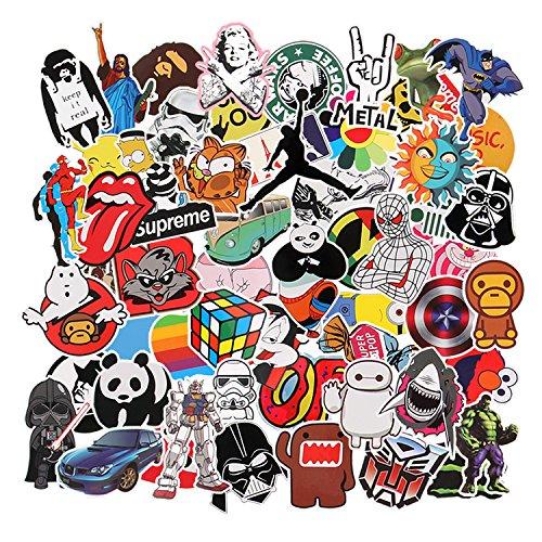 Paquete de pegatinas [150-Pcs], Neuleben Graffiti Sticker Vinals Vinals para portátiles, niños,...
