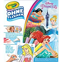 Crayola 12785.4100 - Color Wonder - Disney Princess Malbuch, bunt