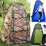 Pop up Zelt Duschzelt Toilettenzelt Umkleidezelt für Camping Wandern Reisen