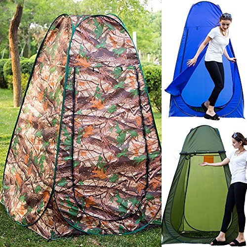 Pop up Zelt Duschzelt Toilettenzelt Umkleidezelt für Camping Wandern Reisen Klettern 120x120x195cm Pusheng