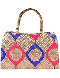 Walk In Closet Women's Handbag (Multi-Coloured, 17390)