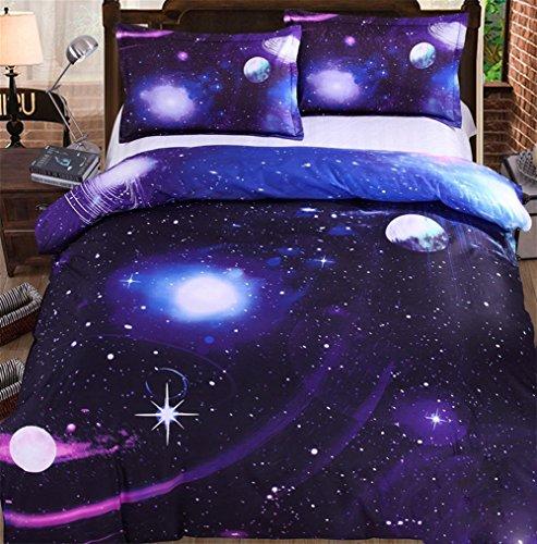 pengwei3D-Bettwäsche, eine Familie von vierdimensionalen Universum Sterne 1,5 / 1,8 / 2,0 m vierköpfige Familie , 1.5m (5 ft) bed