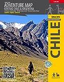 Adventure Map Central Chile & Argentina - Reisekarte Straßenkarte - Trekking Chile