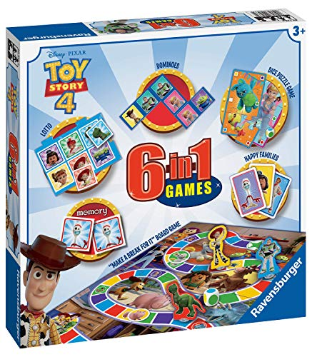 Ravensburger 20533 Disney Pixar Toy Story 4, 6 en 1 Juegos