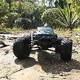 ElevenY RC Car 2.4G 1:12 1/12 Escala Coche Supersónico Monster Truck Vehículo Todo Terreno Cochecito electrónico Juguete Deportes Juegos de Carreras de Coches Regalos para niños Chicas