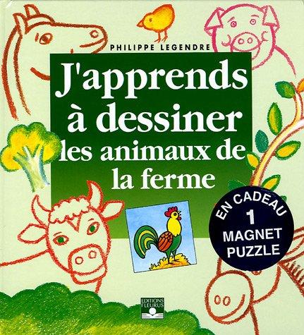 Les animaux de la ferme : Avec un magnet puzzle