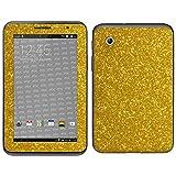 atFolix Samsung Galaxy Tab 2 7.0 (GT-P3100) Skin FX-Glitter-Gold-Rush Designfolie Sticker - Reflektierende Glitzerfolie