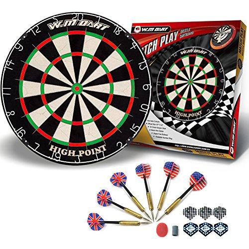 WIN.MAX Bristle Steel Dartboard