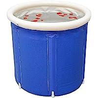Baignoire pliable pour adulte - Seau en plastique épais - Portable - Gonflable - PVC - 70 x 70 cm