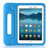 ZiHang Funda Infantil Huawei MediaPad T3 10, Carcasa Niño Antigolpes con Asa Convertible Tapa de Soporte, Funda Bebé Ligera p