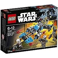 LEGO - 75167 -  Star Wars - Jeu de Construction - Pack de combat la moto speeder du Bounty Hunter