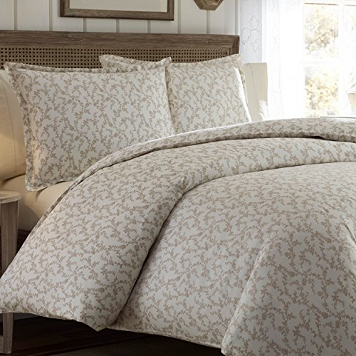Laura Ashley Victoria Bettbezug Set, Taupe, Twin -
