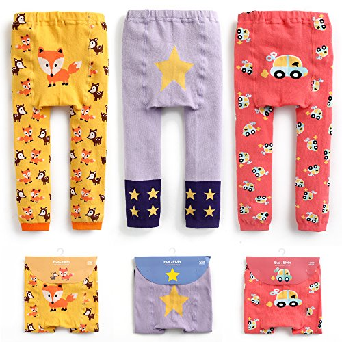 Baby Jungen Baumwolle Footless Ankle Length Cotton Tights Leggings Boy Set 006 -