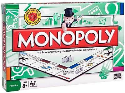 Juegos en familia Hasbro - Monopoly Std Madrid 00009105 por Hasbro