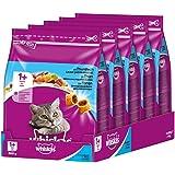 Whiskas Katzenfutter Trockenfutter Adult 1+, verschiedene Sorten und Größen