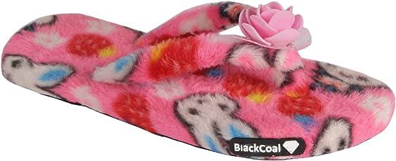 BlackCoal Womens Bedroom Slipper Girls Casual House Flip Flop WFFP01