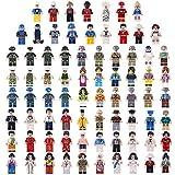 Spieland Mini Figuren Minifiguren Set - 68Stück Complete Gemeinschaft Menschen aus Verschiedenen Branchen Spielzeug Geschenk Pädagogisches Kinder