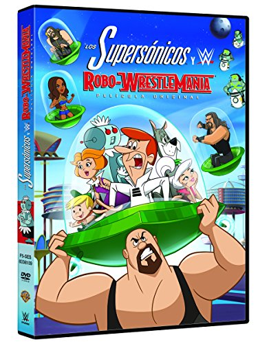 Los supersónicos y WWE: Robo-Wrestlemania