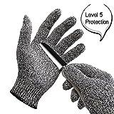 oumeiou Schnittfest Handschuhe Küche Arbeiten Sicherheit Handschuhe für hand Schutz